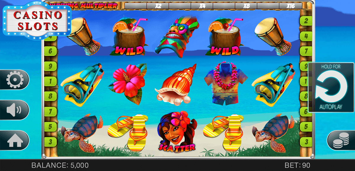 Hawaii Vacation Online Slot