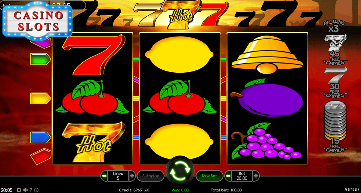 Hot 777 Online Slot