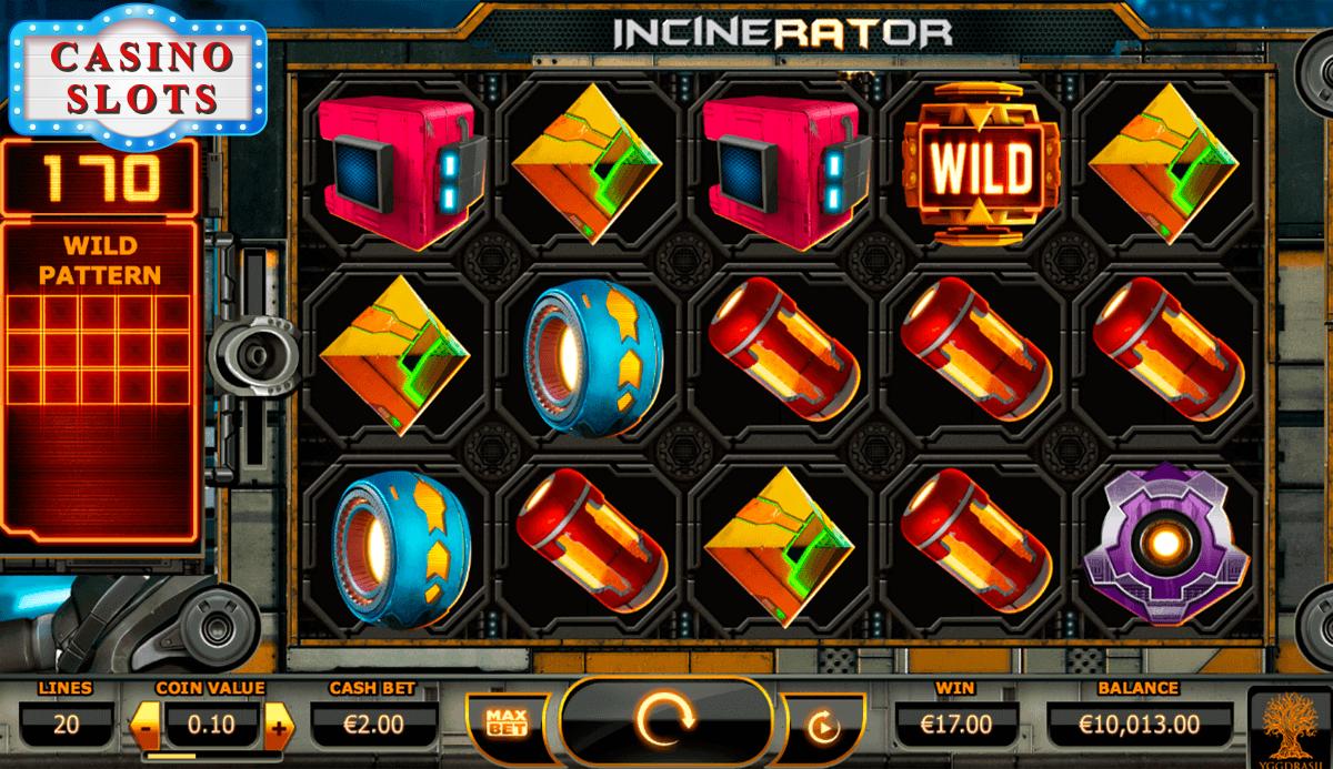Incinerator Online Slot