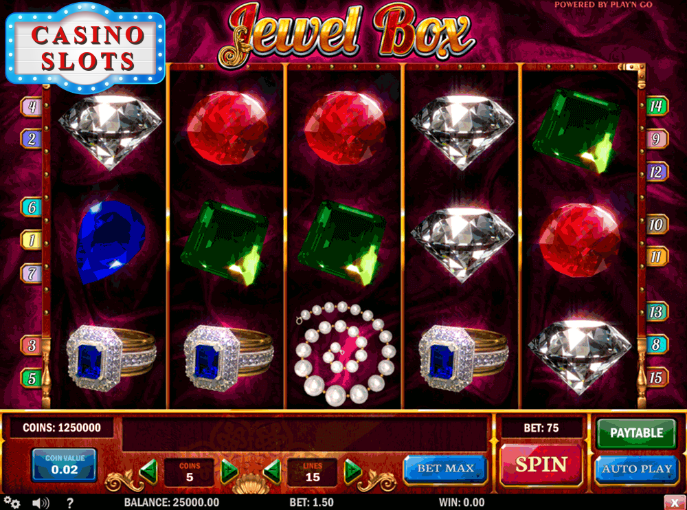 Jewel Box Online Slot