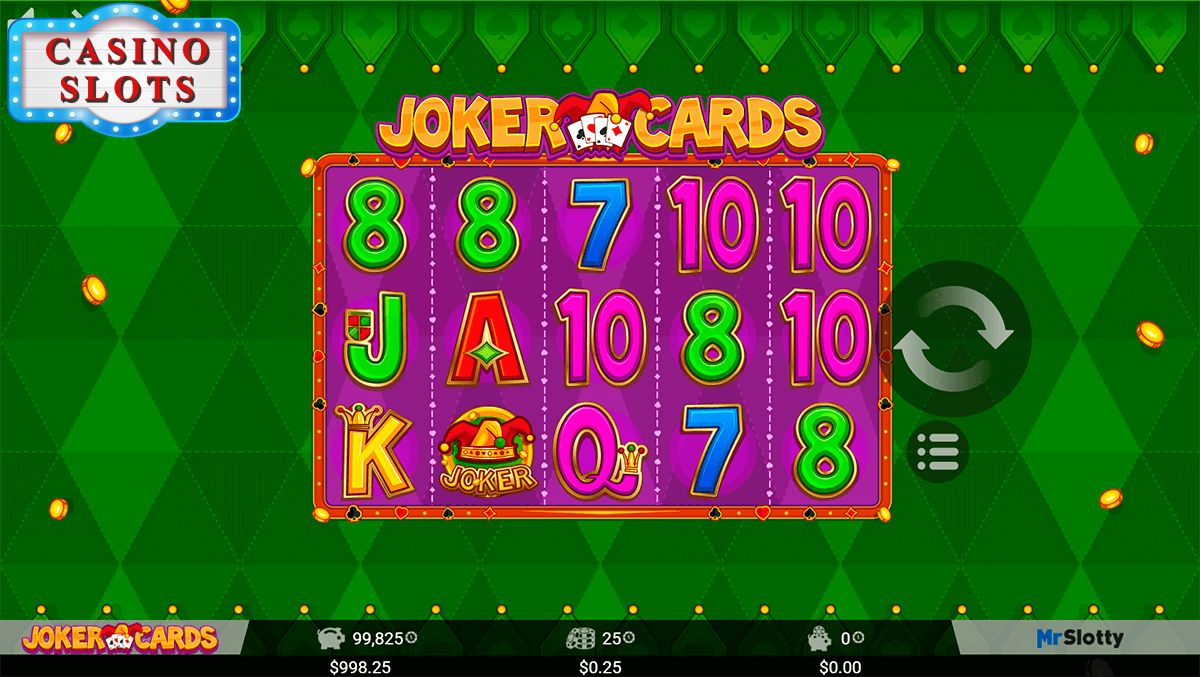 Joker Cards Online Slot