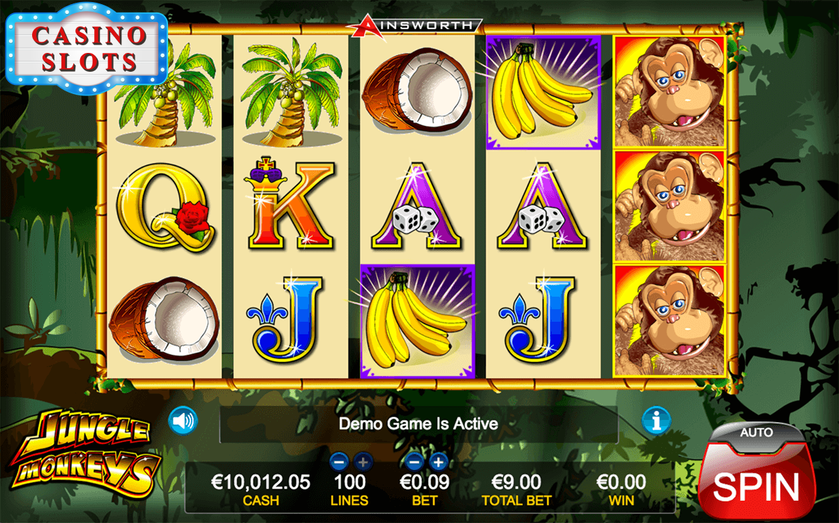 Jungle Monkeys Online Slot
