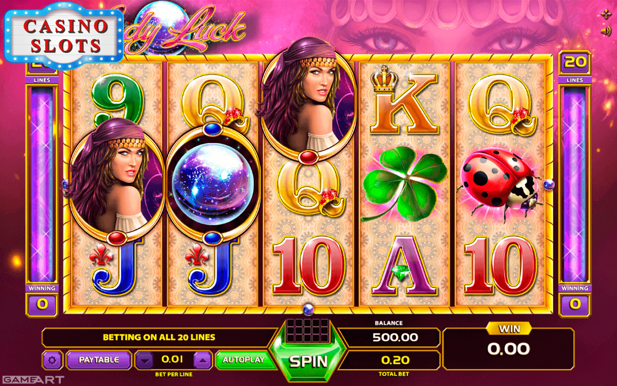 Lady Luck Online Slot