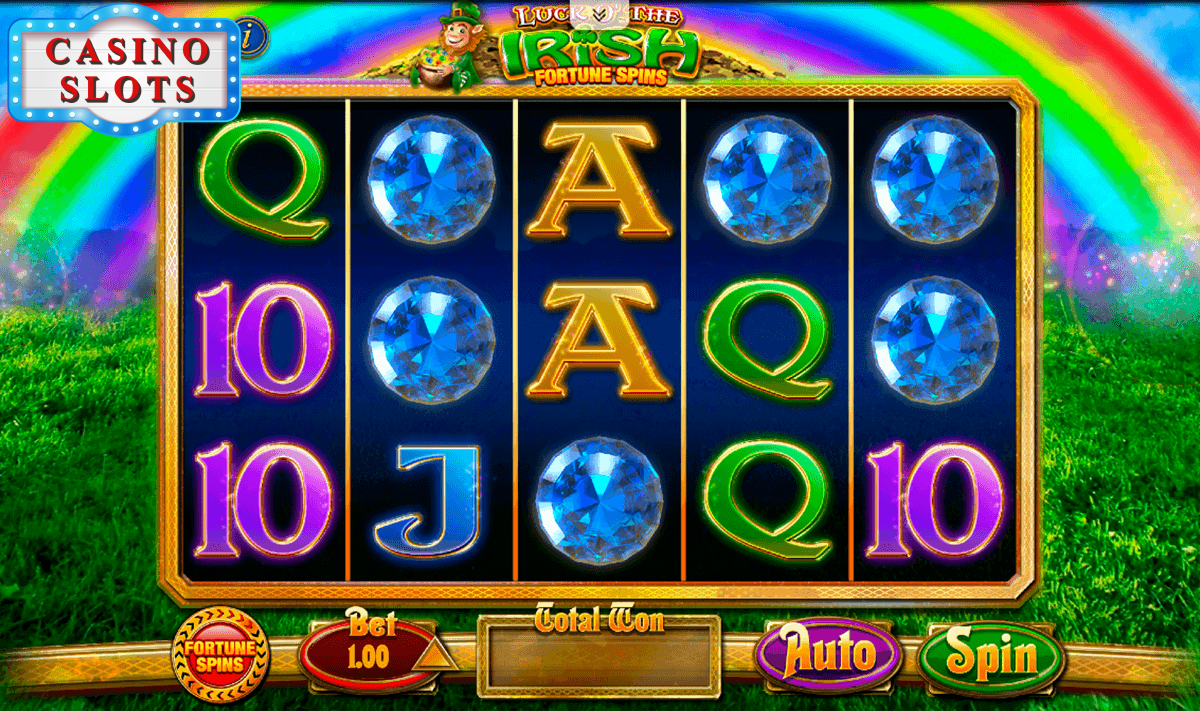 Luck O' The Irish Fortune Spins Online Slot