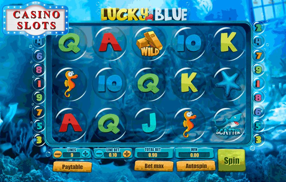 Lucky Blue Online Slot