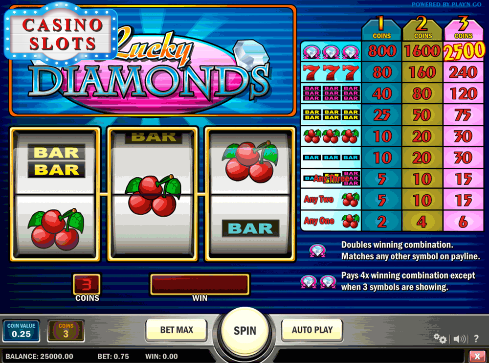 Lucky Diamonds Online Slot
