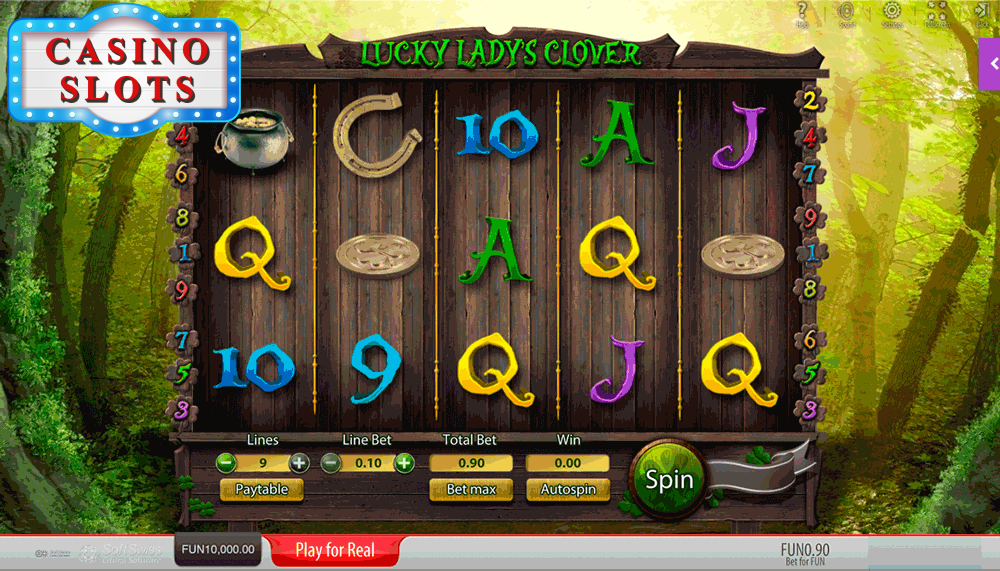 Lucky Lady's Clover Online Slot
