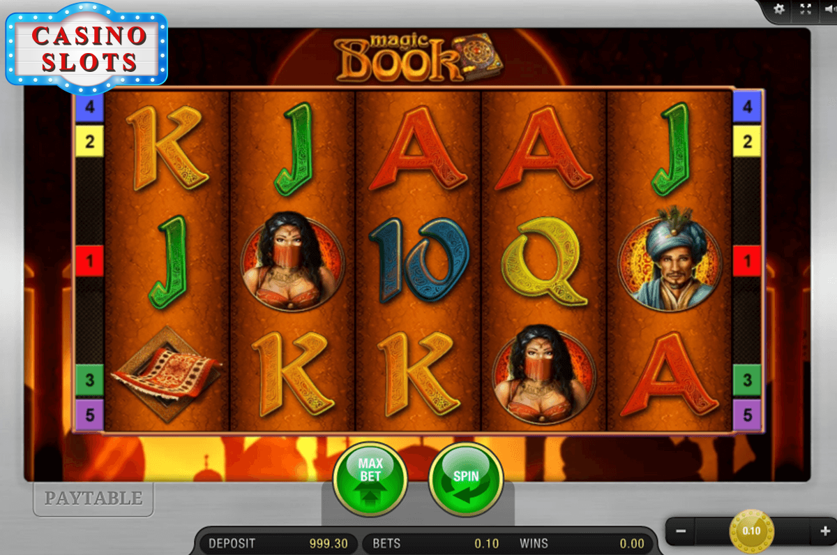 Magic Book Online Slot
