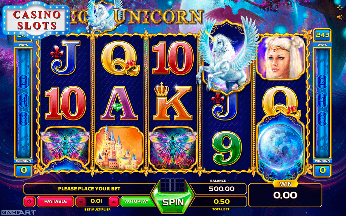 Magic Unicorn Online Slot