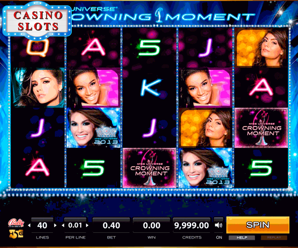 Miss Universe® Crowning Moment Online Slot