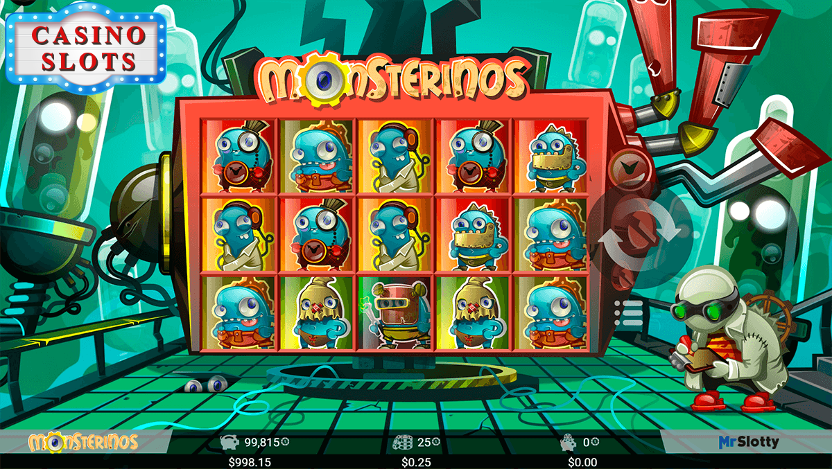 Monsterinos Online Slot