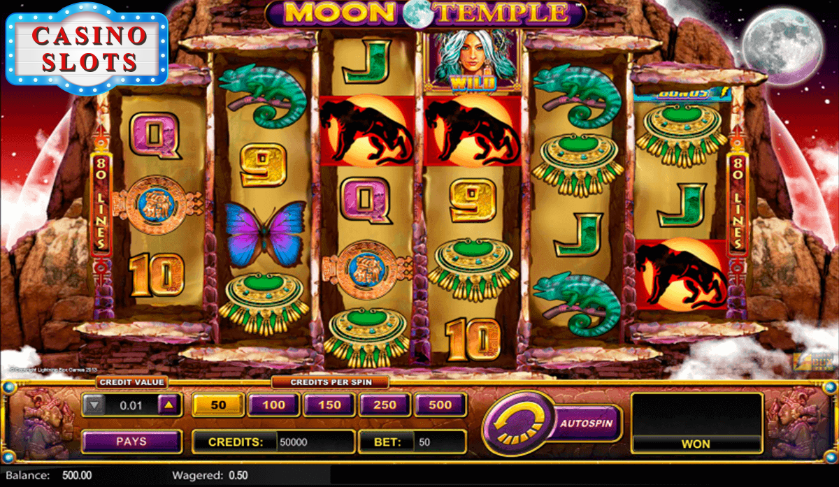 Moon Temple Online Slot