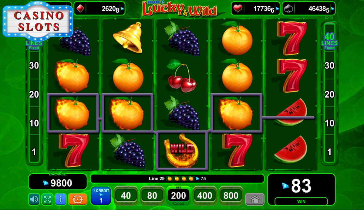 More Lucky & Wild Online Slot