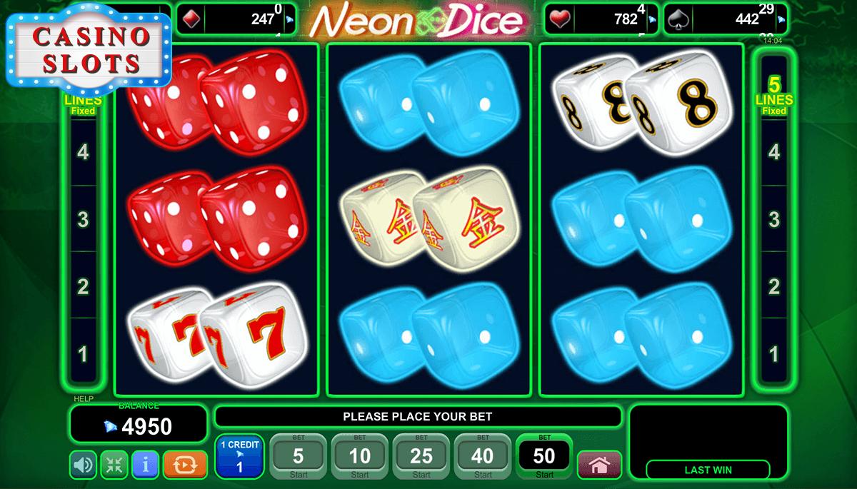 Neon Dice Online Slot