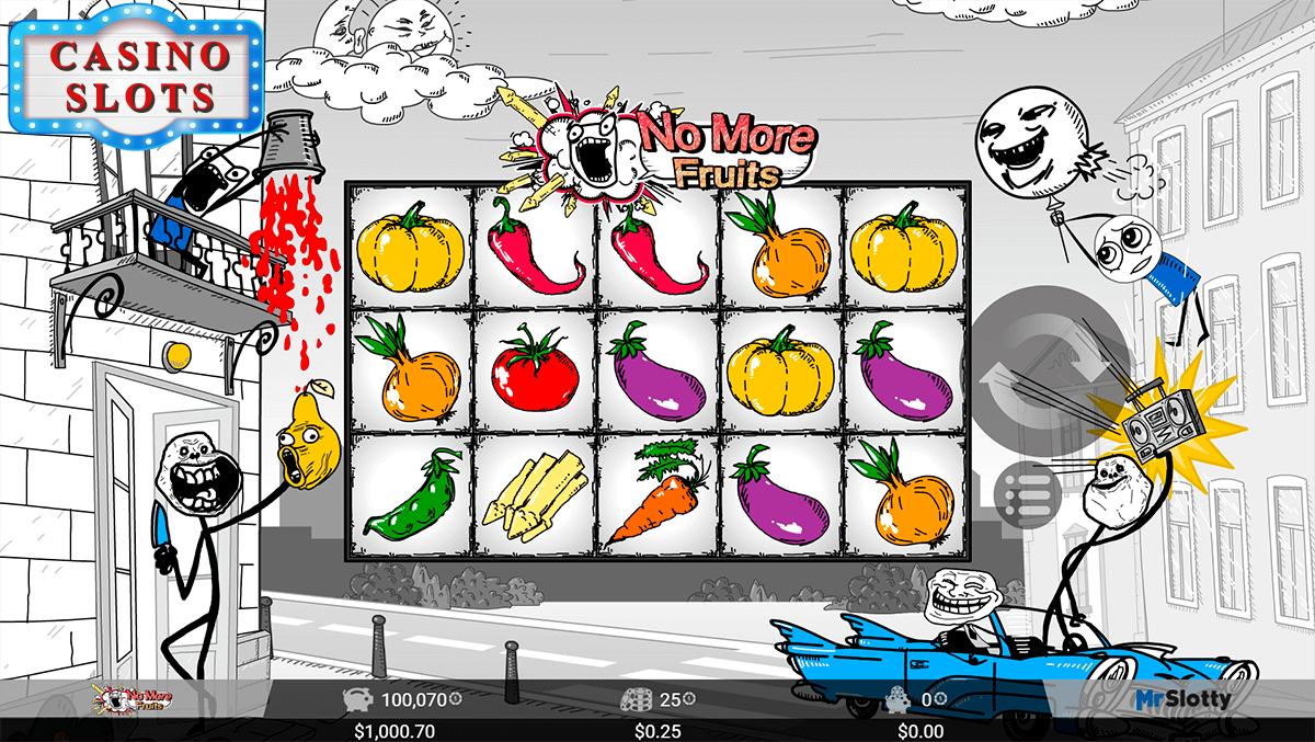 No More Fruits Online Slot