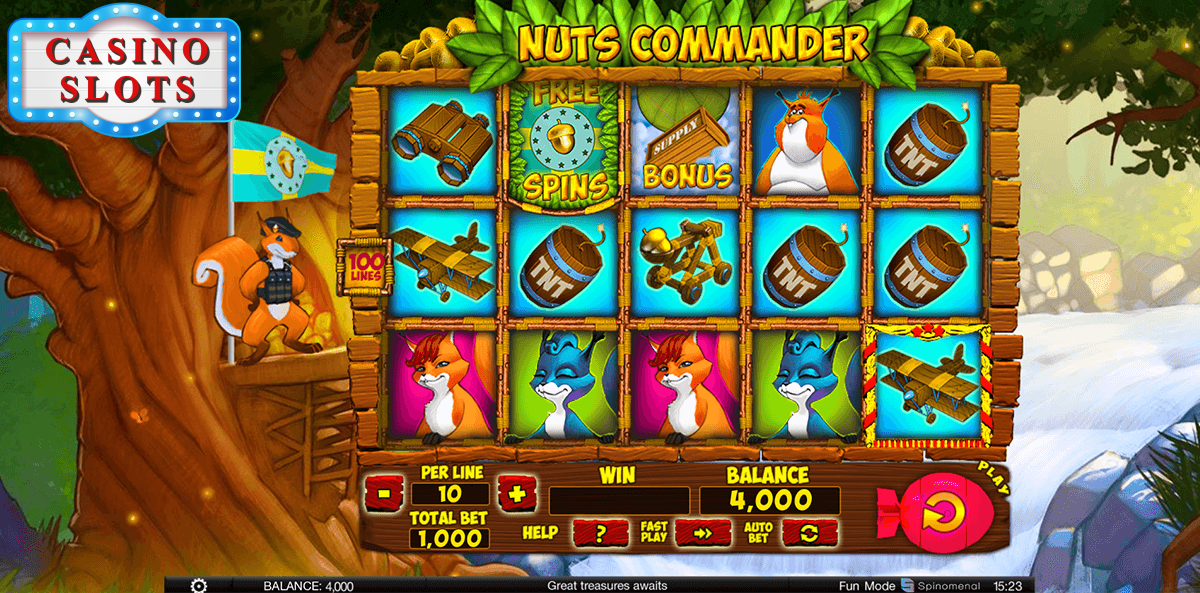 Nuts Commander Online Slot