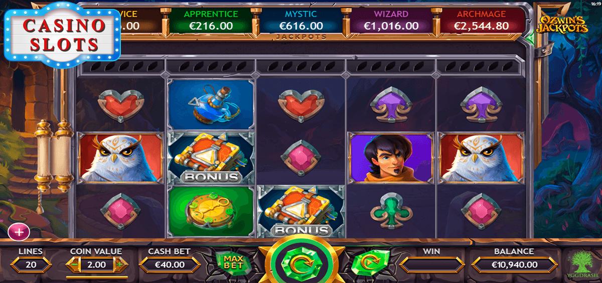 Ozwin's Jackpots Online Slot