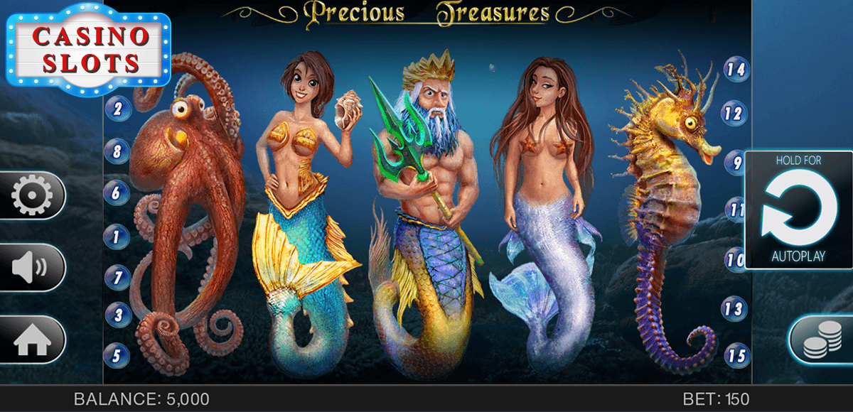 Precious Treasures Online Slot