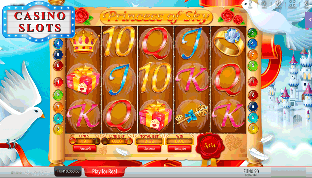 Princess of Sky Online Slot