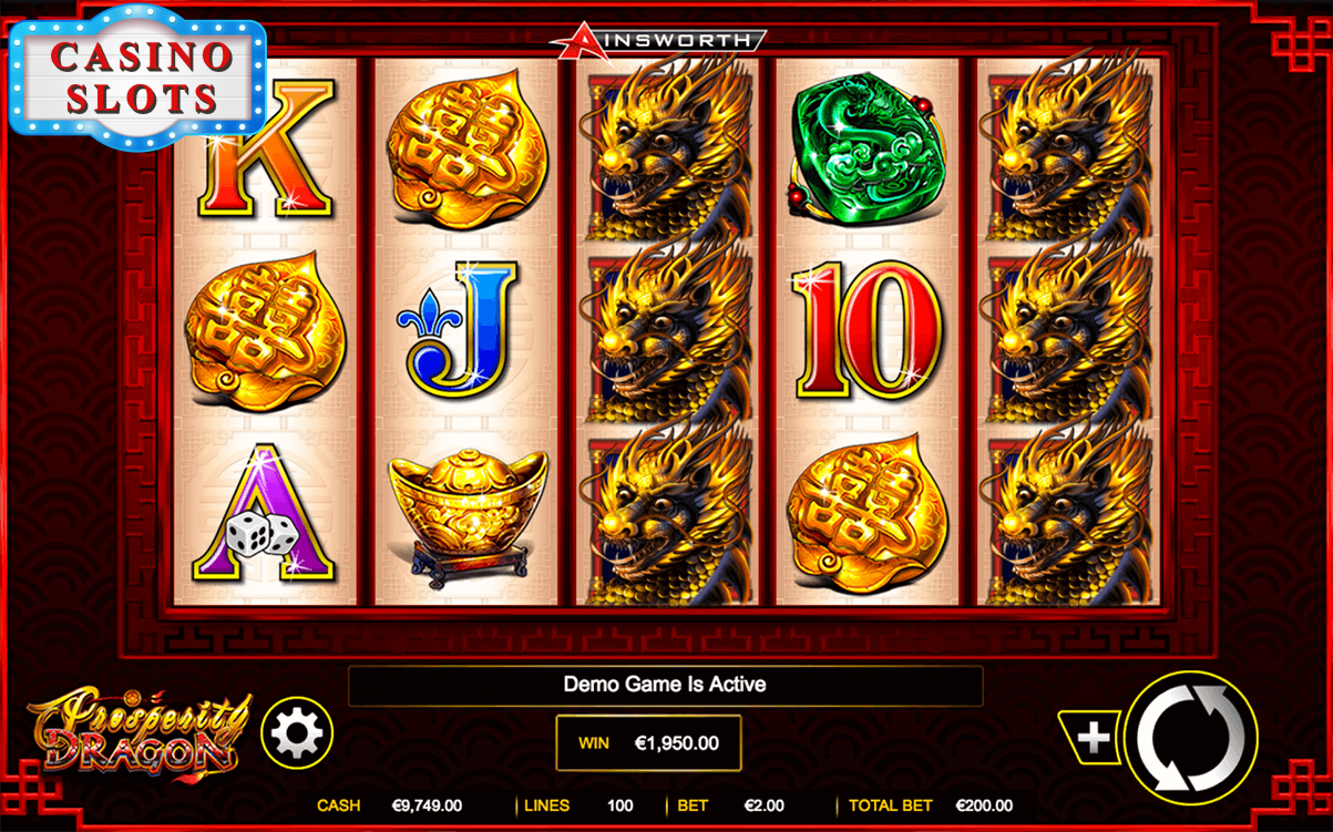Prosperity Dragon Online Slot