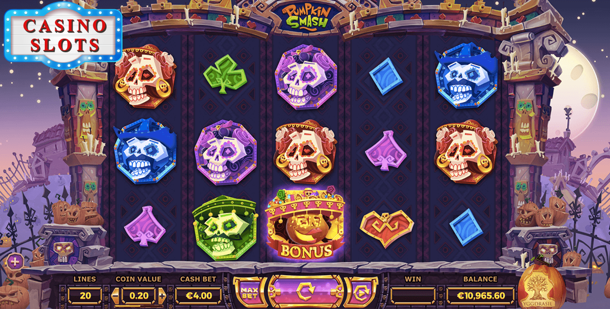 Pumpkin Smash Online Slot