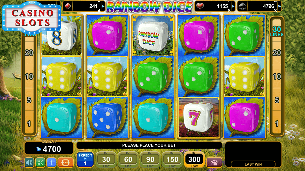 Rainbow Dice Online Slot