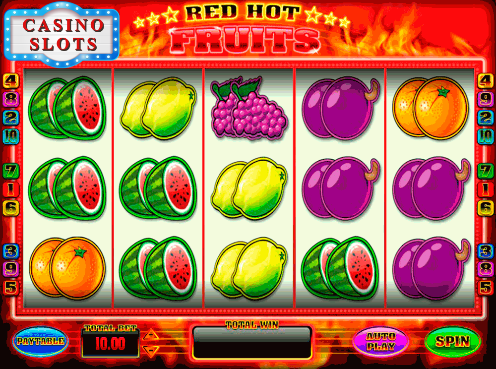 Red Hot Fruits Online Slot