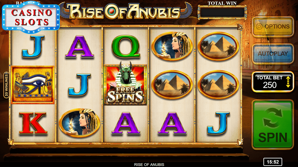 Rise of Anubis Online Slot