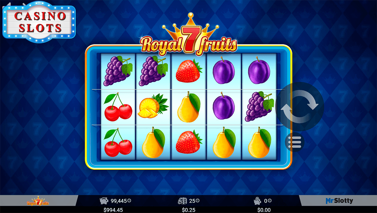 Royal 7 Fruits Online Slot