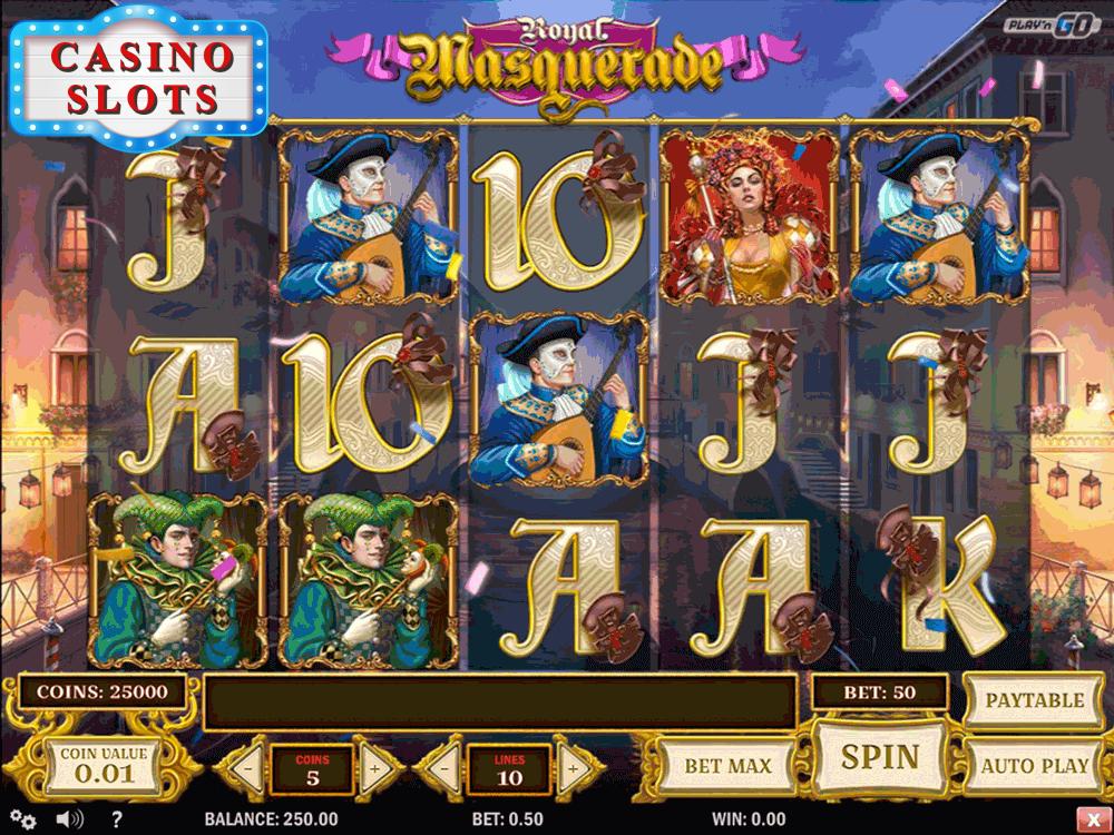 Royal Masquerade Online Slot