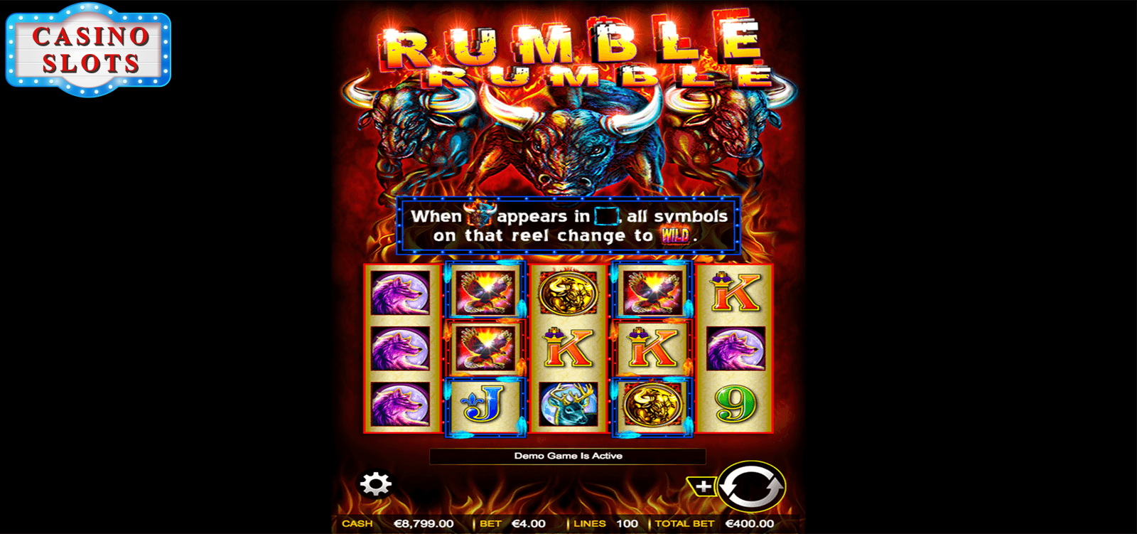 Rumble Rumble Online Slot