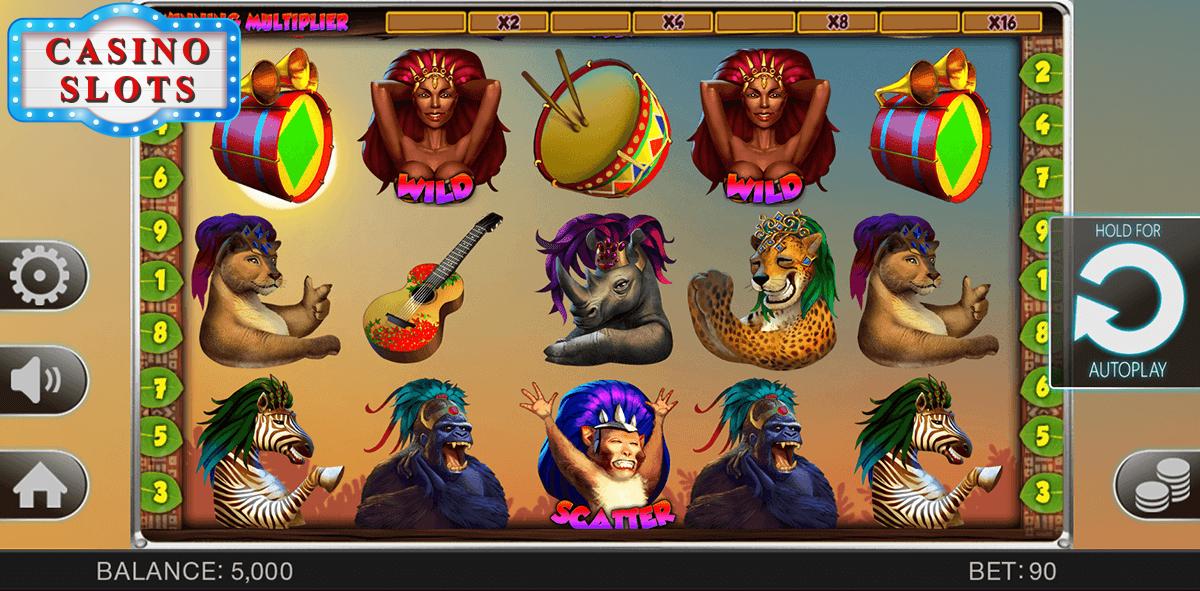 Safari Samba Online Slot