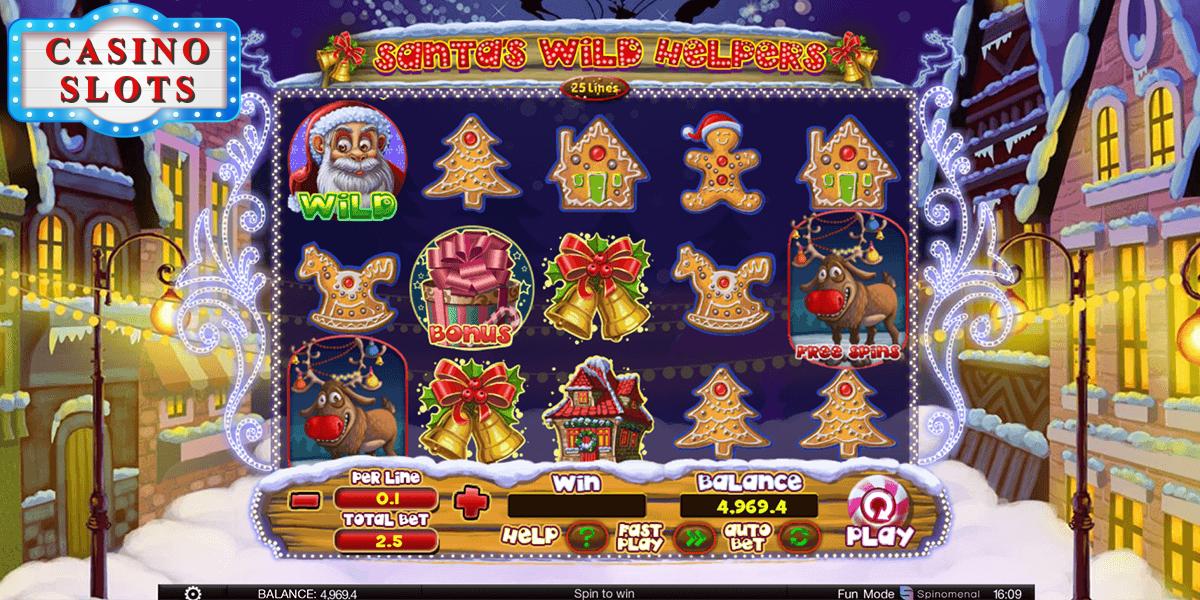 Santa Wild Helpers Online Slot