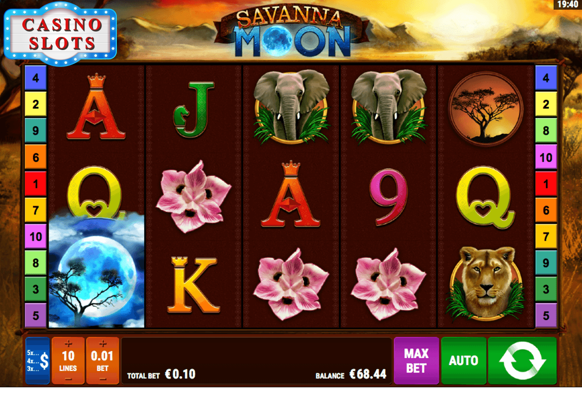 Savanna Moon Online Slot
