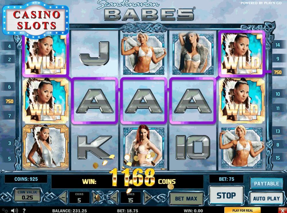 Scandinavian Babes Online Slot
