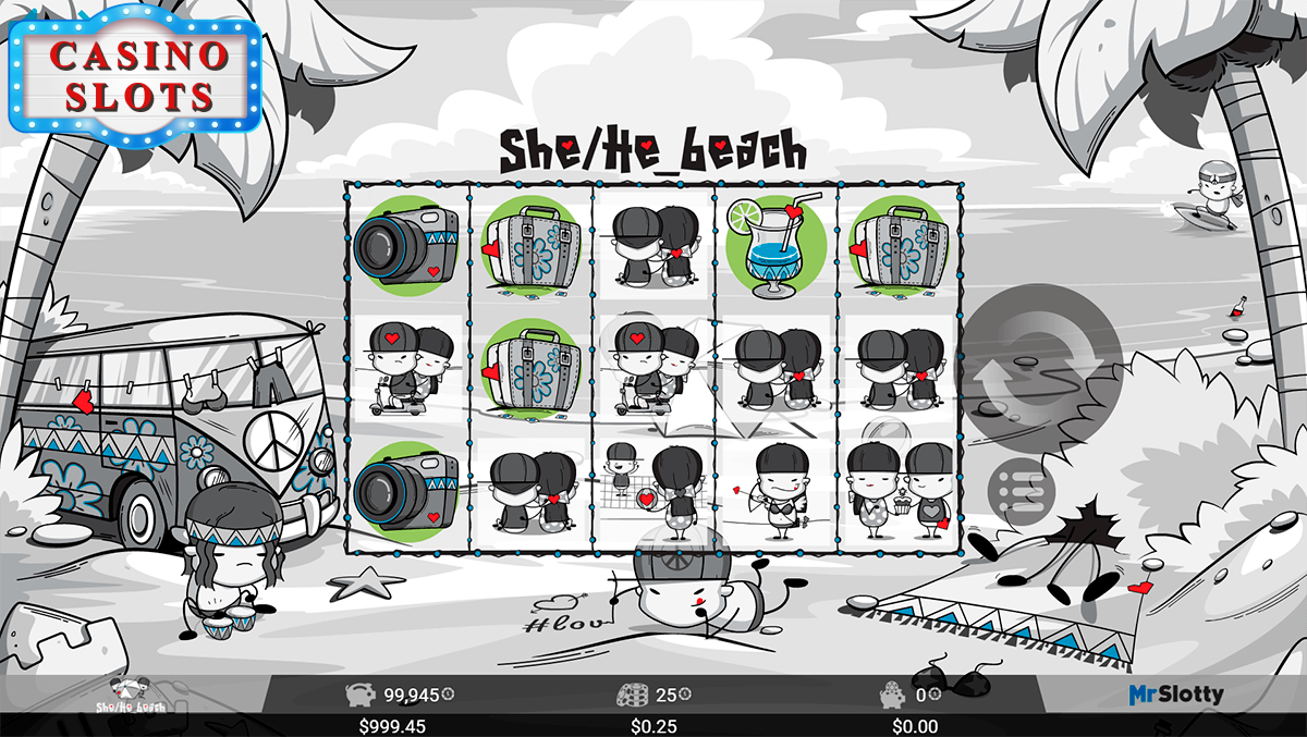 She/He_beach Online Slot