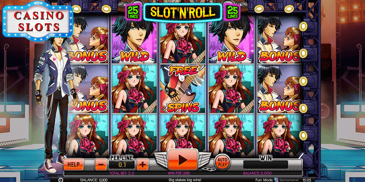Slot and Roll Online Slot