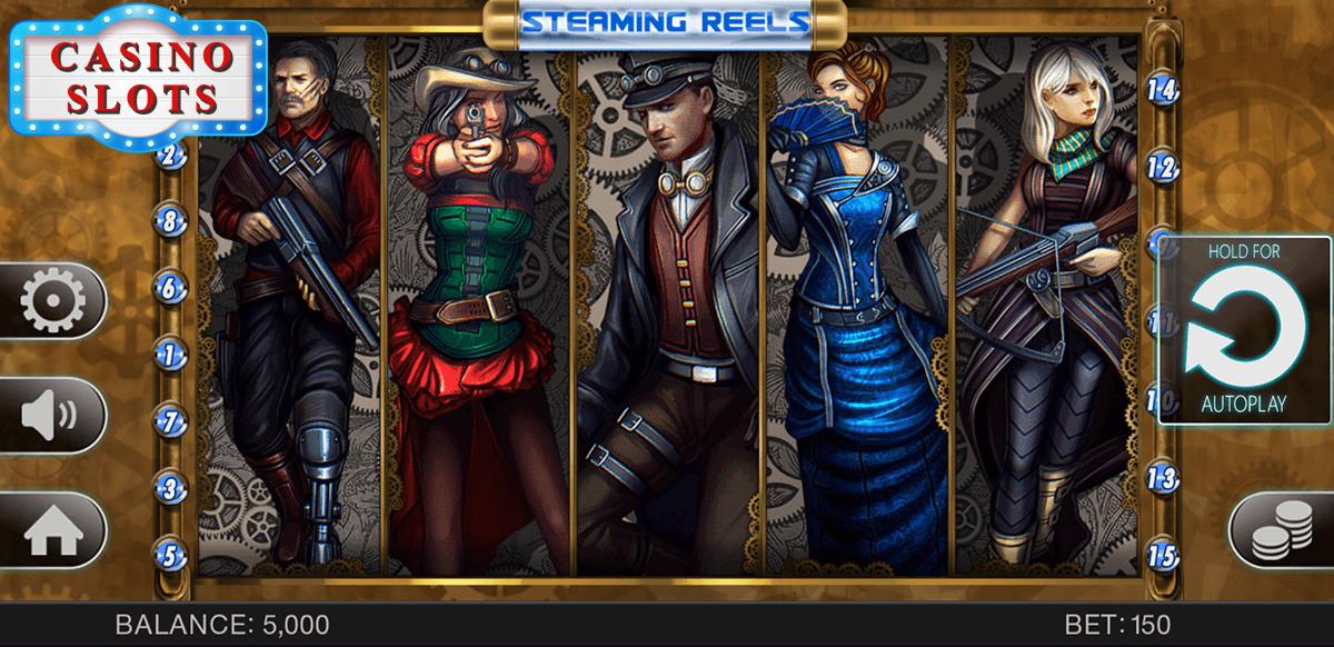 Steaming Reels Online Slot