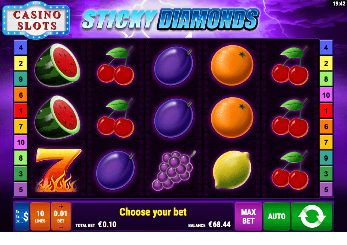 Sticky Diamonds Online Slot