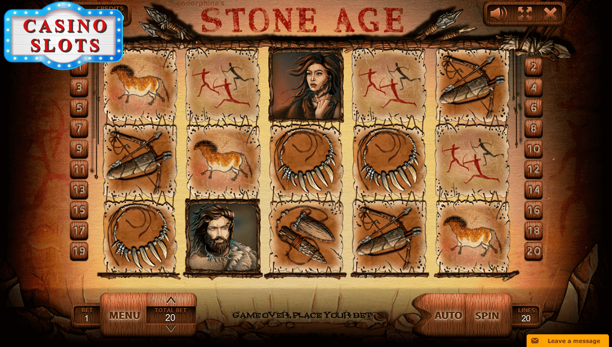 Stone Age Online Slot
