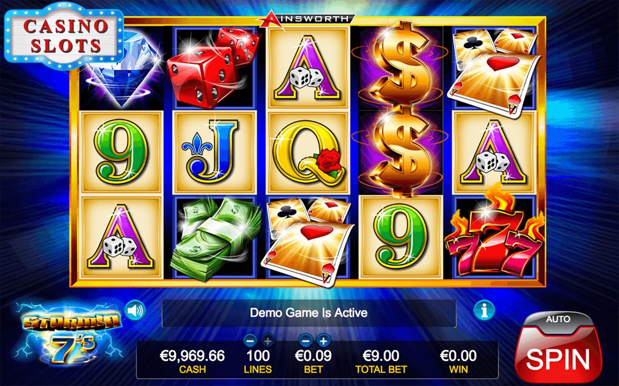 Stormin 7's Online Slot