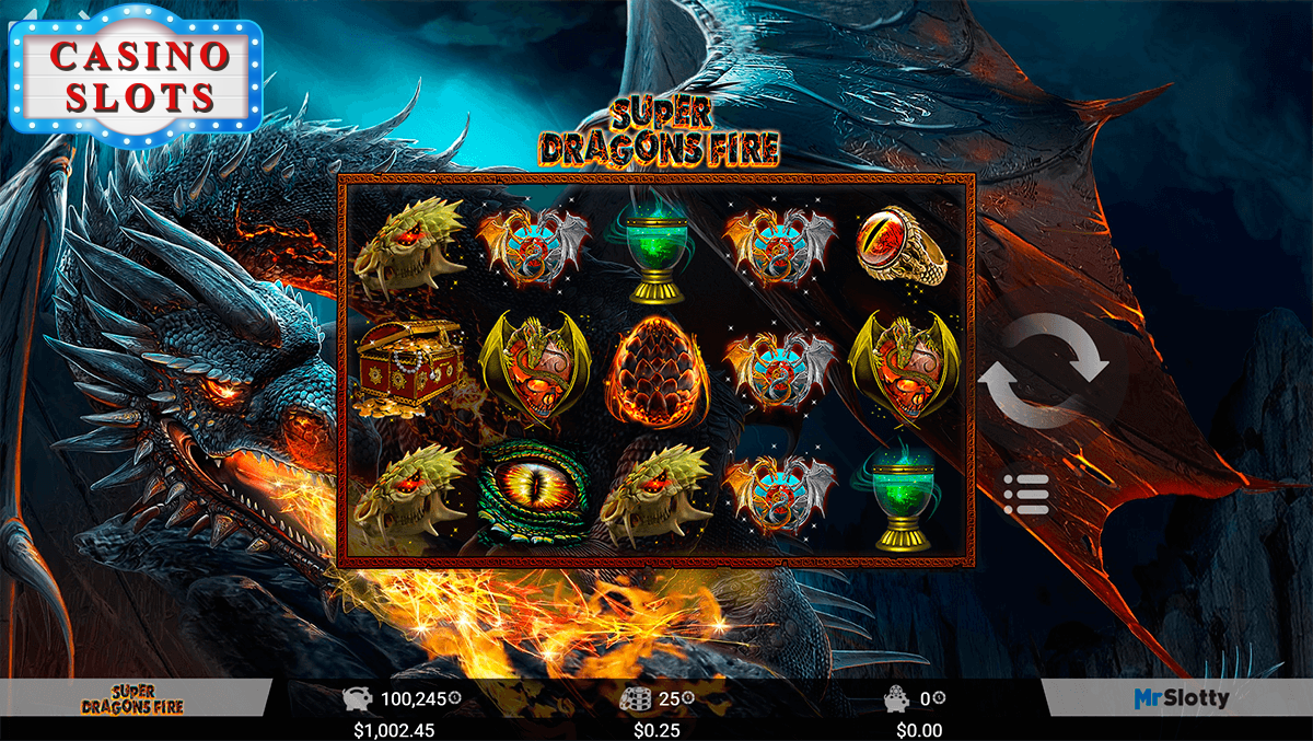 Super Dragons Fire Online Slot
