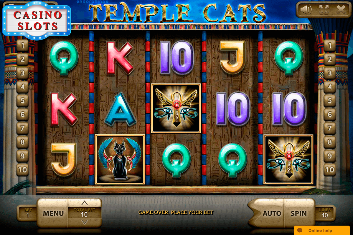 Temple Cats Online Slot