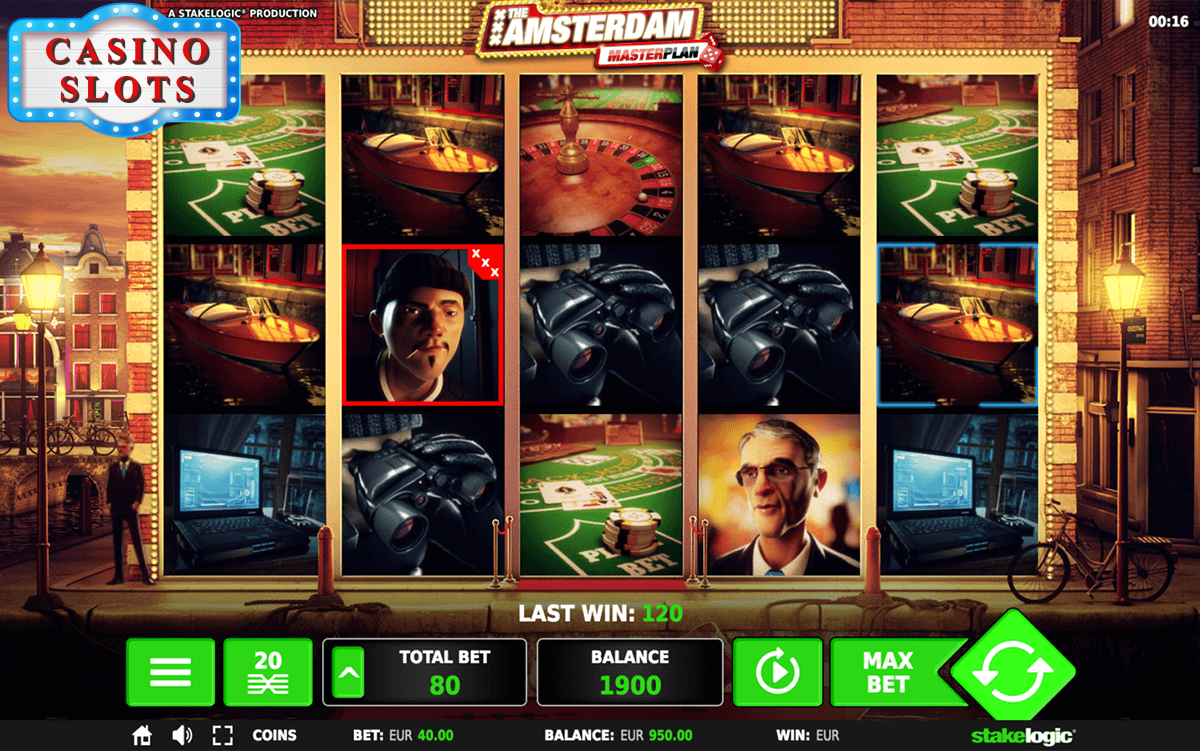 The Amsterdam Masterplan Online Slot