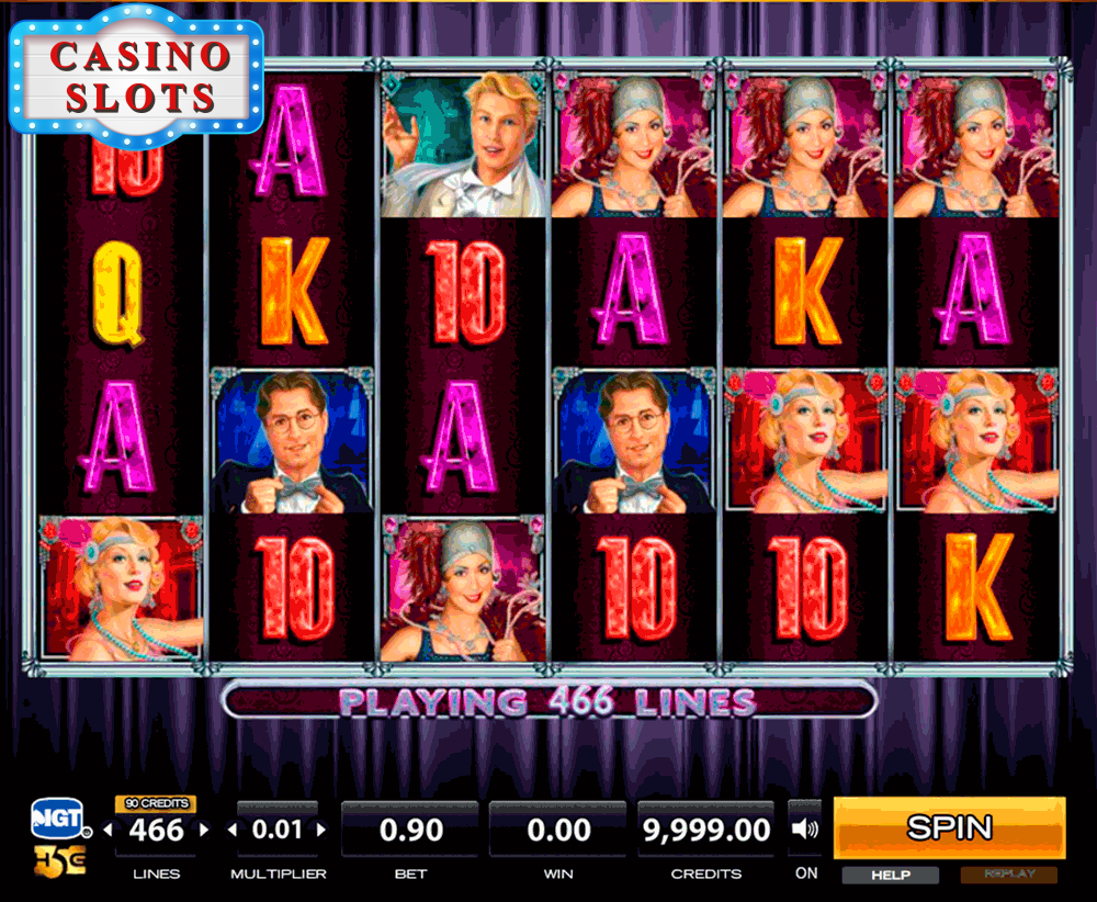 The Charleston Online Slot