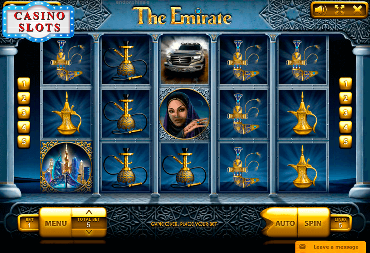 The Emirate Online Slot