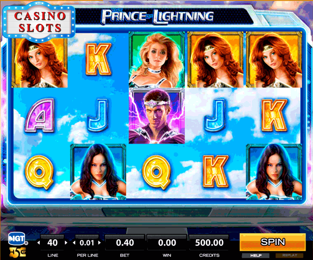 The Prince of Lightning Online Slot