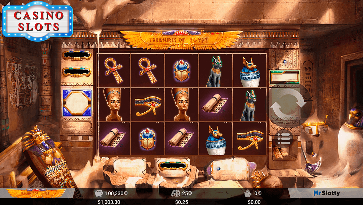 Treasures of Egypt Online Slot