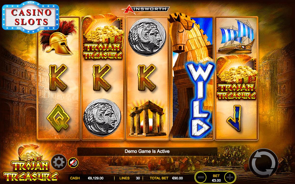 Trojan Treasure Online Slot