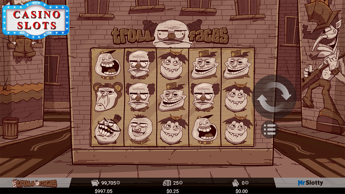 Troll Faces Online Slot